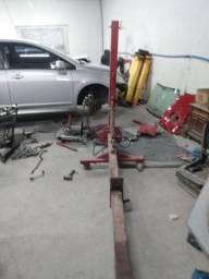 Oficina de lataria e pintura, vendo ou troco por carro