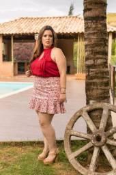 Conjunto plus size Fernanda Sousa tam 52