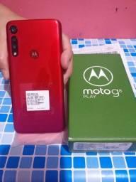 Moto G8 Play Zerado Completo Com Nota Fiscal/Garantia
