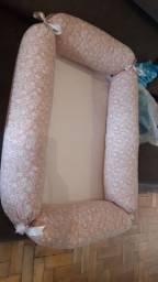 Ninho  e almofada redutora de bebê conforto