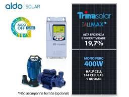Gerador de energia (placas + drive para motobomba + conectores + cabos +controlador solar