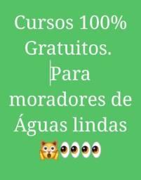 Cursos 100% Gratuitos para Moradores de Águas lindas
