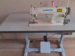 Máquina de costura industrial reta em excelente estado