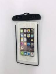 Capa Bolsa para celular a Prova de água. Entrega Grátis