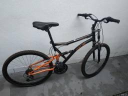 Bicicleta Caloi Xrt Full Suspension Aro 26 - Usada
