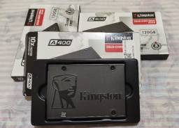 SSD Kingston A400 120Gigas Novo, na caixa e com Garantia