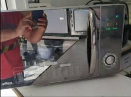 Oportunidade única dois em um forno micro-ondas 220 V