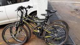 Duas Bike Caloi MTB