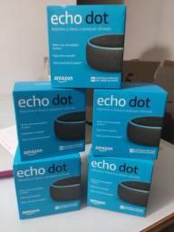 Echo dot Alexa 3a geração - nota fiscal e garantia