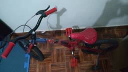 Bicicleta infantil aro 16 homem aranha.