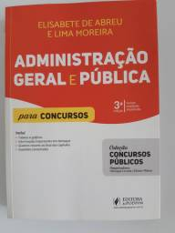 Livro de Administração para concursos.