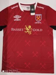 Camisa West Ham eSports Umbro - Tamanho: G