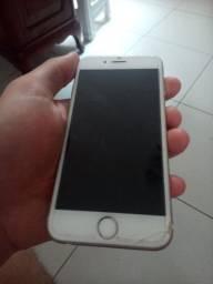 IPHONE 6s 16g com trincado