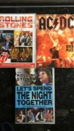 Vendo 11 DVDS de rock