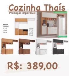 Armário de cozinha completa de ótima qualidade Thaís