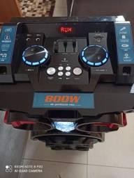 Caixa de som lenox 800 wats rms
