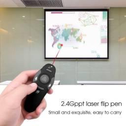 Apresentador Slide Sem Fio Caneta a Laser Controle Power Point