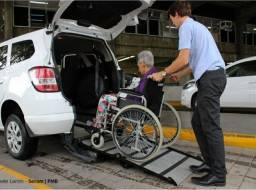Transporte de pessoas taxi para cadeirante ?
