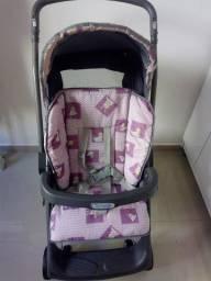 Carrinho com bebê conforto Burigotto usado