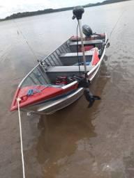 Vendo barco completo fone *