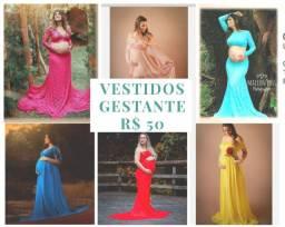 Vestidos de Gestante - SOMENTE $50