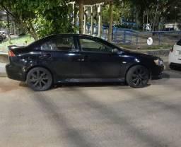 Mistubishi Lancer 2012 2.0 equipado preto