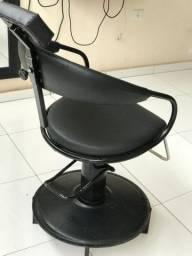 Cadeira para barbeiro/salão