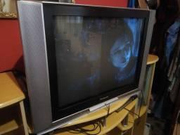 Tv de tubo 29 polegadas + Rack cor marfim
