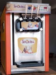 Máquina de sorvete misto sorvetec.