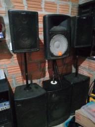 Vendo som para eventos valor R$7.500