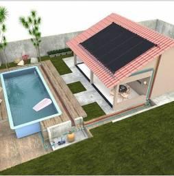 Kit Aquecedor Solar Piscina 7,2 m2 (02 Placas 3m)