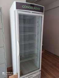 Freezer aberto vertical