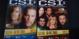 Box dvd CSI 6° temporada vol. 02 + vol. 03