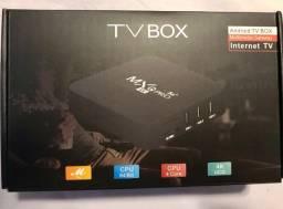 TV Box Mxq Pro - 4GB ram e 64 GB - 4 K - Pronta Entrega