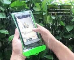 Capinha case a prova d'água para celular etc-entregamos em domicílio
