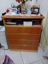 Vendo dormitorio completo de madeira usado( parcelo)