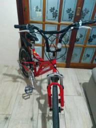 Bicicleta aro 20 zerada pouco uso aceito cartão