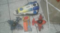 Lote imaginext veiculos trocas