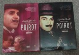 Box DVD Poirot (Agatha Christie) Volumes 1 e 2