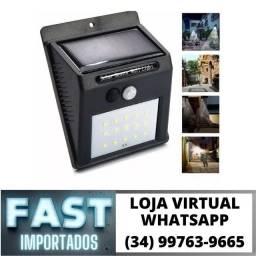 Luminária Solar c/ Sensor de Presença