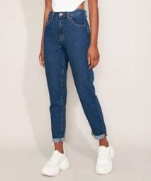 Calça mom jeans vários modelos