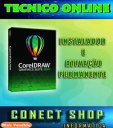 CorelDraw para você usa na sua maquina