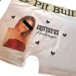 Título do anúncio: Cueca Personalizada Com foto Presente Personalizado Criativo Cueca Boxer