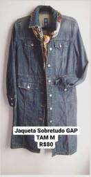 Sobretudo Jeans GAP- Tam M (veste tam 40)
