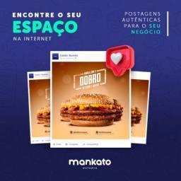 Pacote de artes para redes sociais, publicidade, design gráfico, banner, flyers, logo