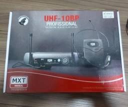 Microfone Sem Fio MXT Uhf-10bp Profissional
