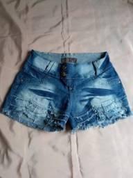 Short Jeans - Tamanho 42