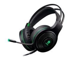 Fone Headset Gamer  Evolut Têmis Eg-301 Led Verde