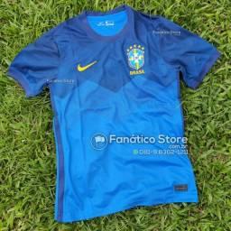 Camisa Brasil 2021/22 - Loja Fanático Store - Pronta entrega