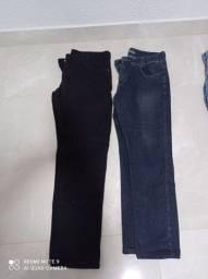 Calça masculino tamanho 44 semi nova as 2 por 35 reais